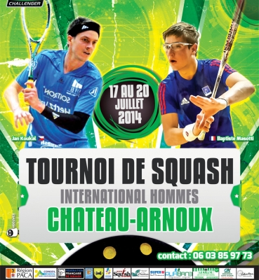 Affiche PSA Squash