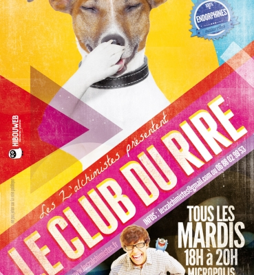 Flyer Club du Rire