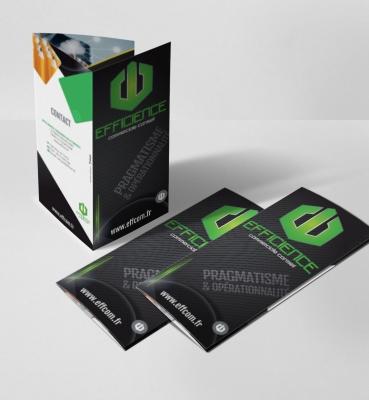 Brochure-plaquette Efficience Commerciale Conseil