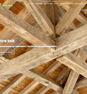 Création de site internet : Langrand Bois à Gap