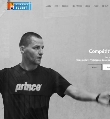 Création de site : Squash PACA