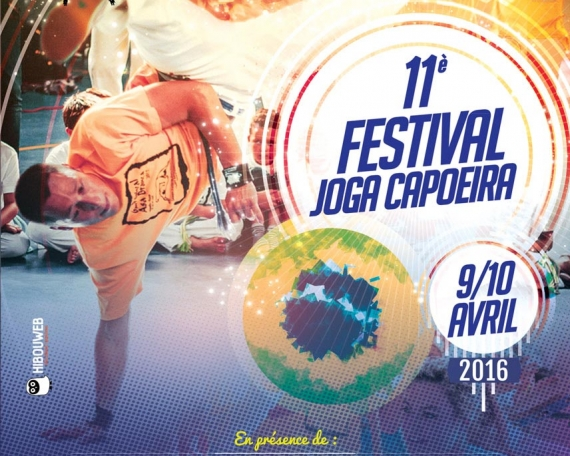 Création de Flyer Capoeira Gap