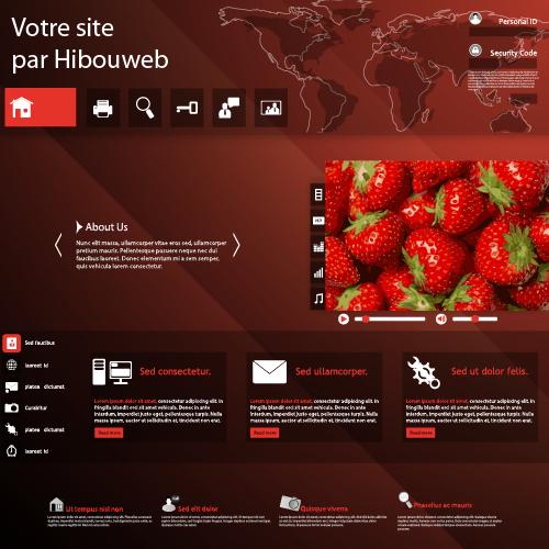 votre site créé par hibouweb