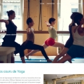 Création de site : centre de yoga Iyengar de Marseille