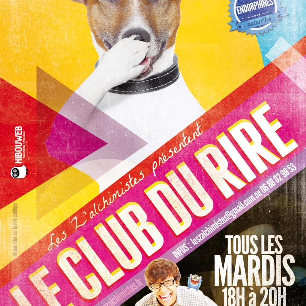 flyer club du rire gap