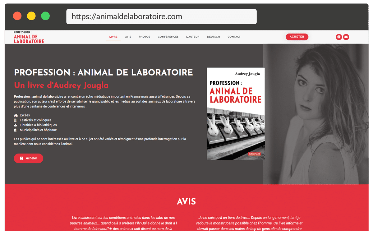 animal de laboratoire