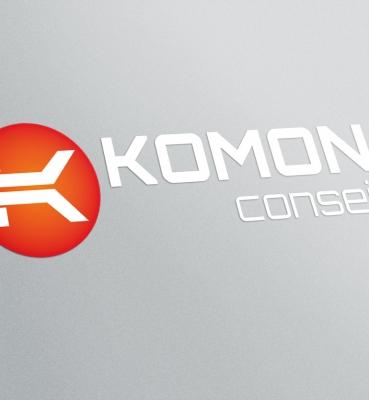 Komon Conseil : création de logo