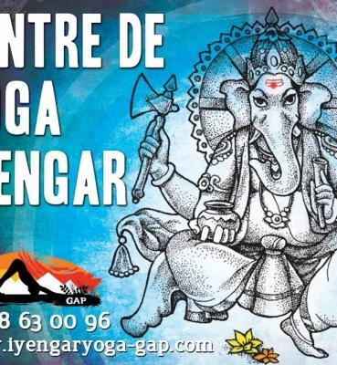 Enseigne Yoga Iyengar