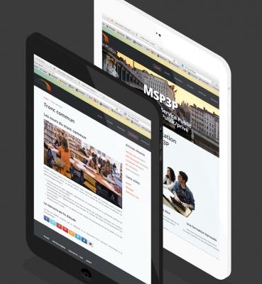création de site internet Msp3p