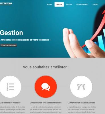 Pilot'Gestion : création de site internet