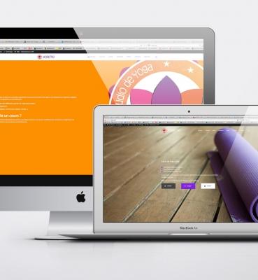 Création de site internet-yogitime